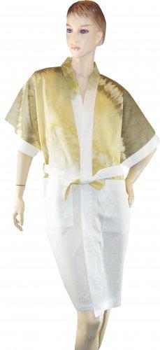 Ladies' Batik Tie-Dye Cotton Kimono (Free Size)