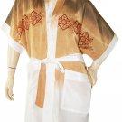 Ladies' Batik Tie-Dye Rayon Kimono (Free Size)