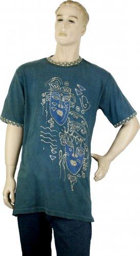 Eco-friendly Natural Dyed Batik T-Shirt