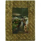 "Hand-crafted Natural Weave Picture Frame Two-ways (4""×6"" or 6""x4"") Without Stand"