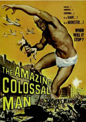 The Amazing colossal Man DVD (1957) Glen Lanagan