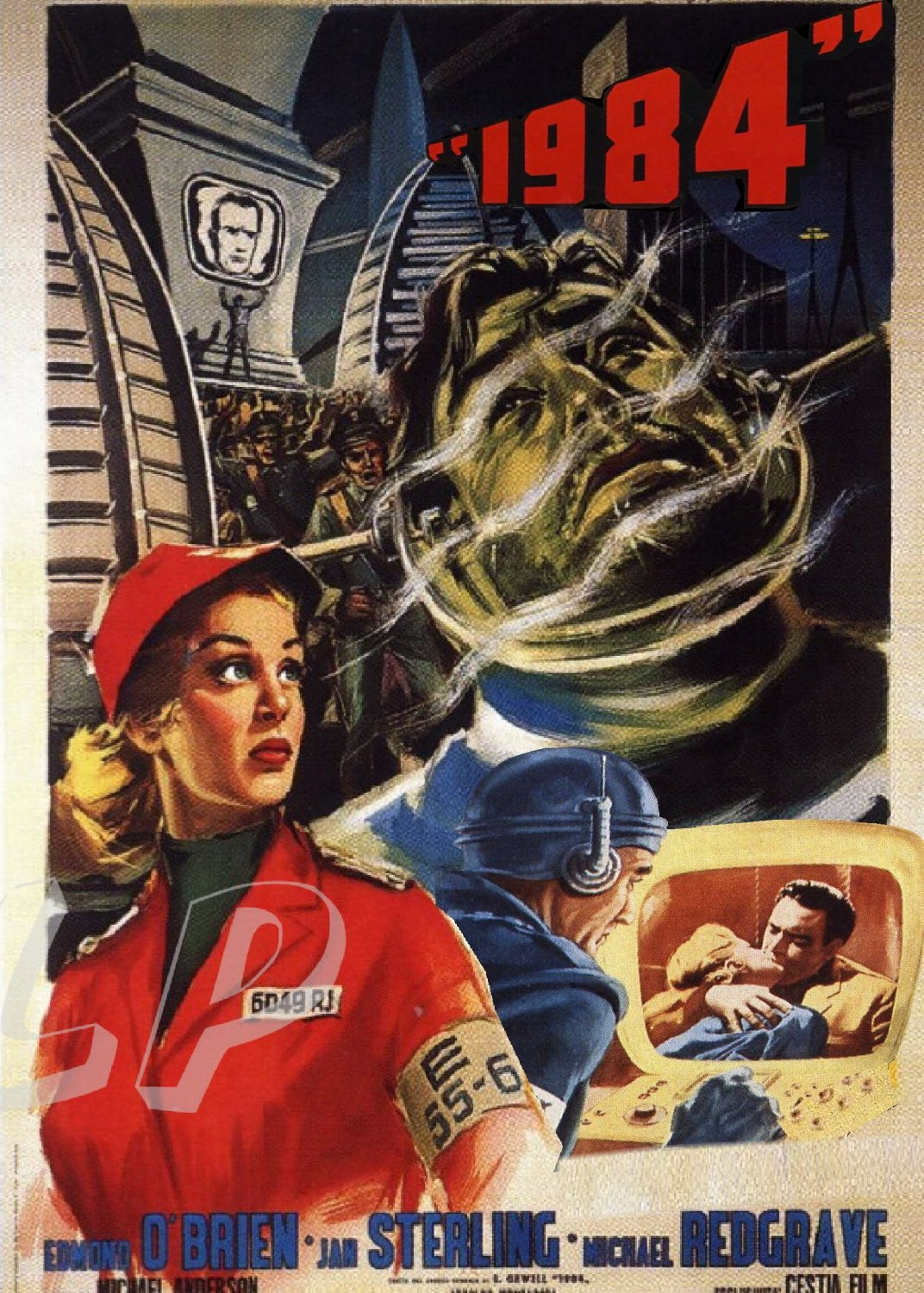 What Stores Accept Paypal Credit >> 1984 DVD (1956) Sci-Fi Classic