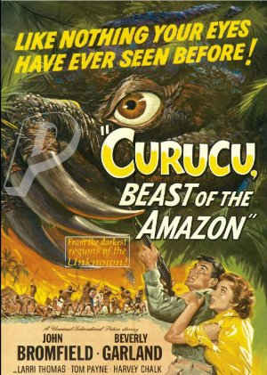 Curucu, Beast of The Amazon DVD (1956) Rare Classic