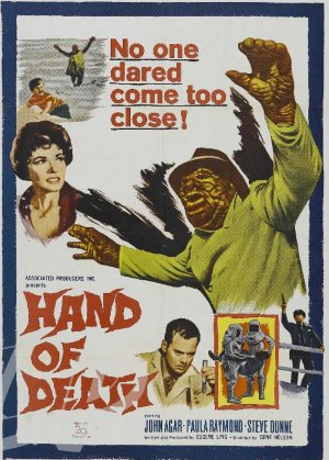 Hand of Death DVD (1962) John Agar