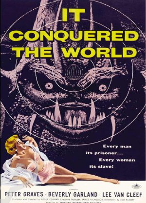 It Conquered The World DVD (1956) Roger Corman, Sci-Fi classic
