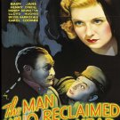 The Man Who Reclaimed His Head DVD (1934) Claude Rains, Lionel Atwill