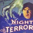 Night Of Terror DVD (1933) Bela Lugosi, Rare Horror