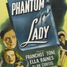 Phantom Lady DVD (1944) Franchot Tone, Alan Curtis, Rare