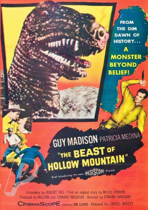 The Beast Of Hollow Mountain DVD (1956) Sci-Fi Classic