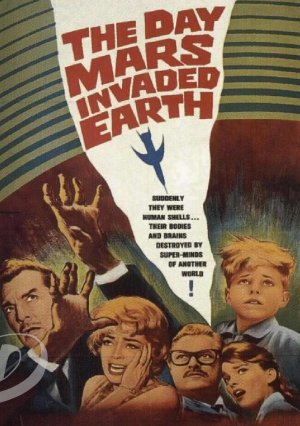 The Day Mars Invaded Earth DVD (1963) Rare Sci-Fi