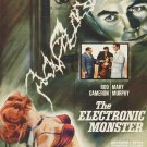 The Electronic Monster DVD (1958) Cult Horror Classic