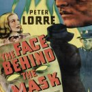The Face Behind The Mask DVD (1941) Peter Lorre, Rare