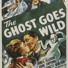The Ghost Goes Wild DVD (1947) Anne Gwynne, Rare