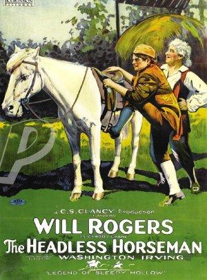The Headless Horseman DVD (1922) Will Rogers, SILENT