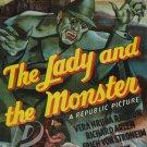The Lady and The Monster DVD (1944) Erich Von Stroheim