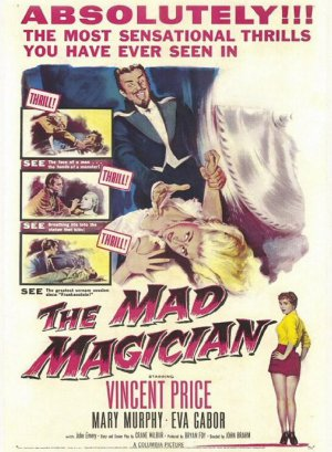 The Mad Magician DVD (1954) Vincent Price