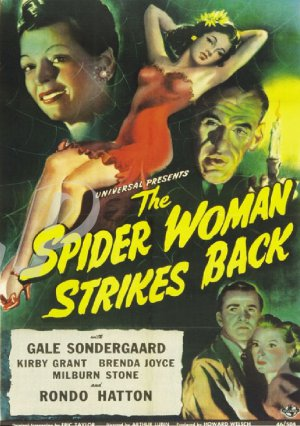 The Spider Woman Stikes Back DVD (1946) Rondo Hatton, Gale Sondergaard