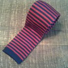 Chaps Red and Blue Knit Tie