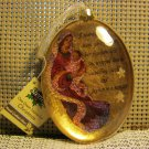 Nativity Hand Crafted Glass Ornament