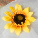 Yellow Sunflower Silk flower Bloom diy supplies