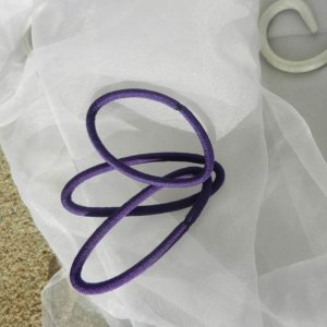 Purple Elastic Ponytail Destash