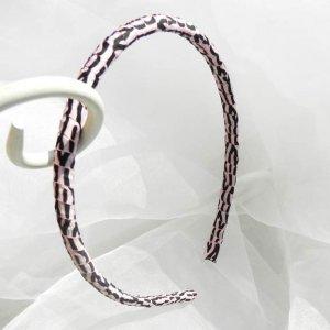 Tiger Print Ribbon Wrapped Headband