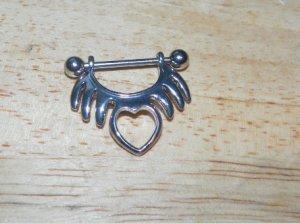 Tribal Heart Nipple Shield Pairs 799