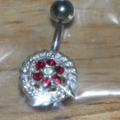 Small Red Flower Navel 763