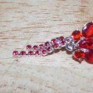 Reverse Red Butterfly Double Tail Navel 205