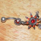 Tarnished Red Star Navel 334