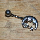 Moon Star Small Charm White Navel 433