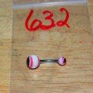 Pink Red Split Eye Navel 632