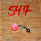Pink White Checkers Navel 547