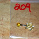 Yellow Clear Rose Navel 209