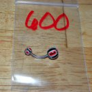 Black & Red Checkers Navel 600