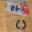 8 Gauge Horseshoe Spikes Small Barbell 685