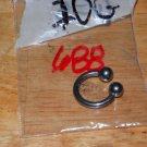10 Gauge Horseshoe Medium Barbell 688