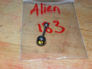 "Alien ""Take Me To Your Dealer"" Round Tongue 183"