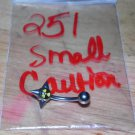Caution Symbol With Spikes Small Navel 251
