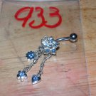 Blue Star Charms Navel 933