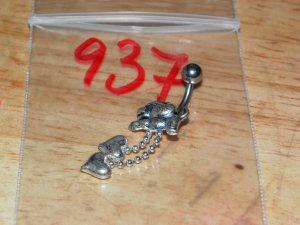 Puppy with Charms Navel 937