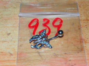 John's Blue Butterfly Navel 939
