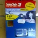 Memory stick PRO DUO (2GB)