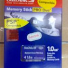 Memory stick PRO DUO (1GB)