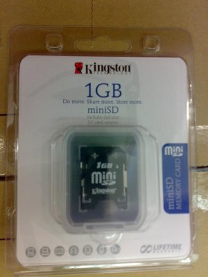 Mini SD (1GB)
