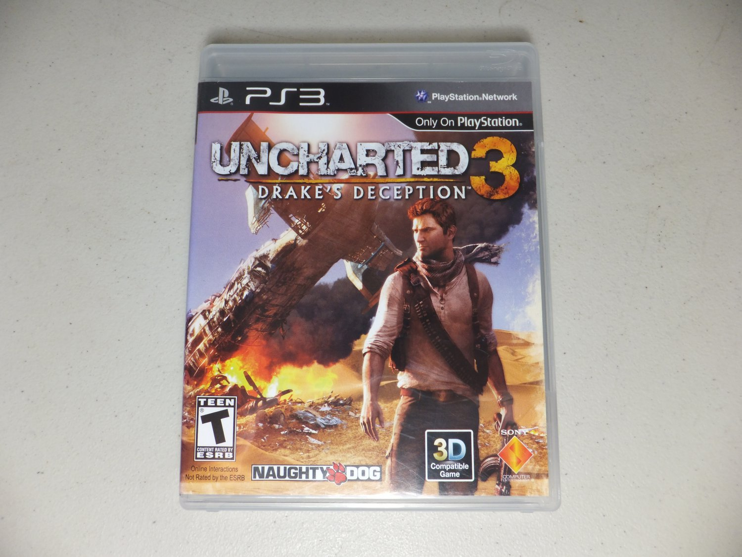 � Uncharted 3: Drake's Deception Sony PlayStation 3 PS3 Video Game 2011 ¤ MINT �