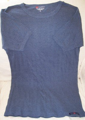 Men's Hanes Classic Ribbed Tshirt Size Medium