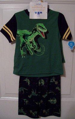 Boys Carter's 3T 3  piece Pajamas Dinosaurs