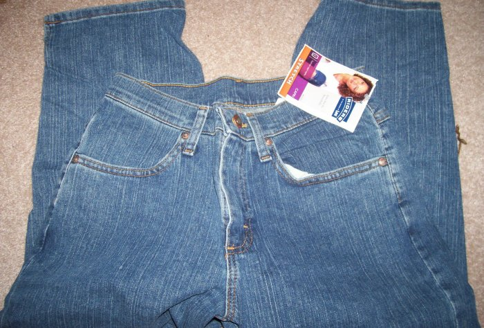 BRAND NEW Size 6 M Lee Rider Jeans Capri Jade