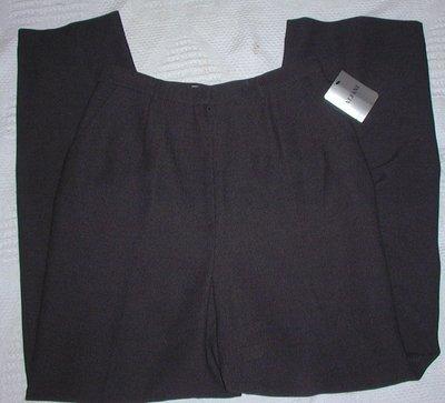 Clothes4: Dress or Business  Alfani Black Pants Size 10